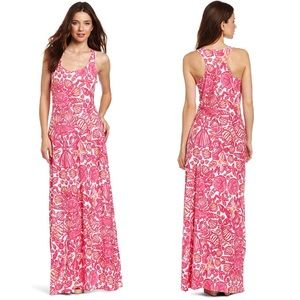 Lilly Pulitzer | Treena Hotty Pink Maxi Dress